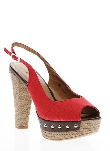 Canzone Ayakkabı Kırmızı